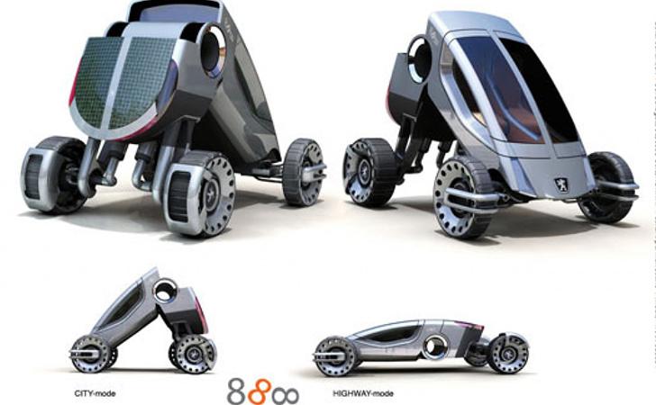 la voiture du futur 3 concepts de constructeurs auto. Black Bedroom Furniture Sets. Home Design Ideas