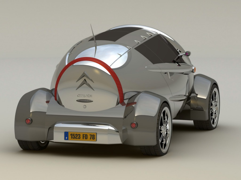 le retour de la 2cv en 4 concept cars. Black Bedroom Furniture Sets. Home Design Ideas