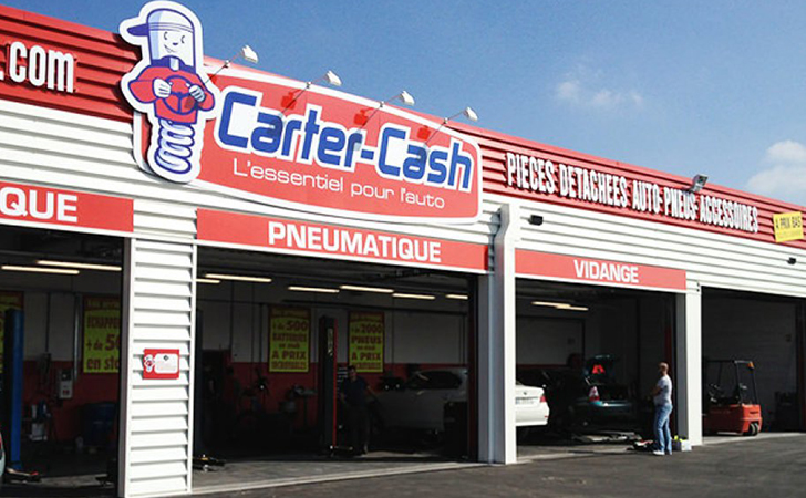 Le magasin carter cash de st genevi ve des bois change d for Garage automobile sainte genevieve des bois