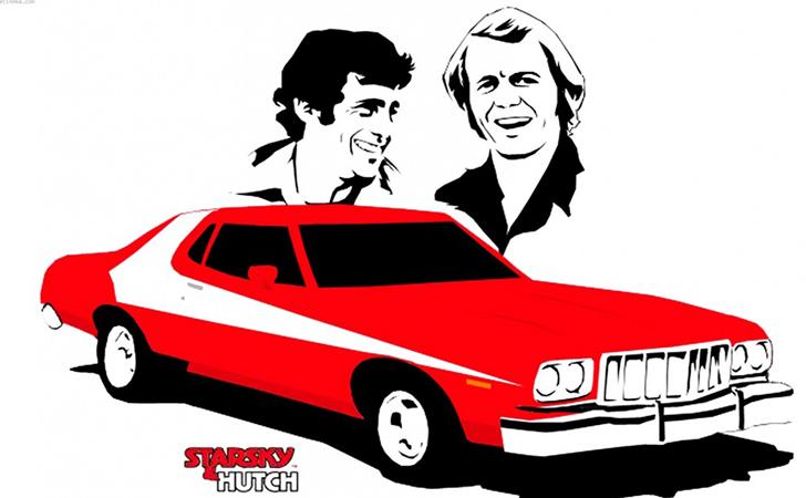 Des voitures à la sauce Starsky et Hutch