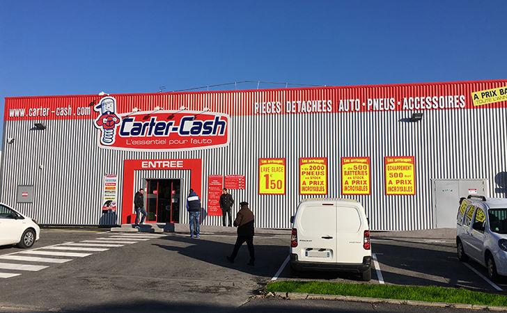 Ouverture d'un magasin Carter-Cash à Dunkerque (59)