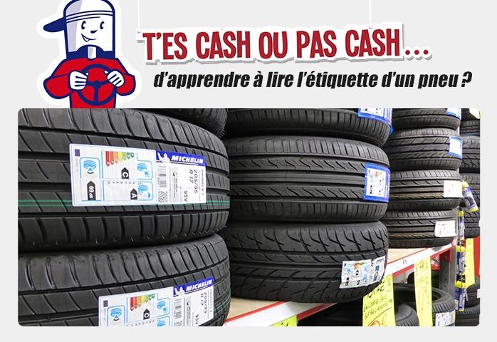 Comment lire l'étiquetage des pneus ?