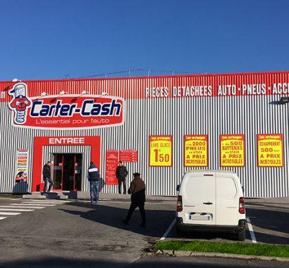 Ouverture d'un magasin Carter-Cash à Béziers (34)