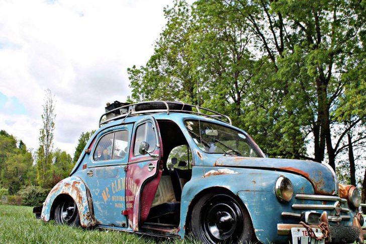 Rencontre avec Alex et sa Renault 4cv rat's
