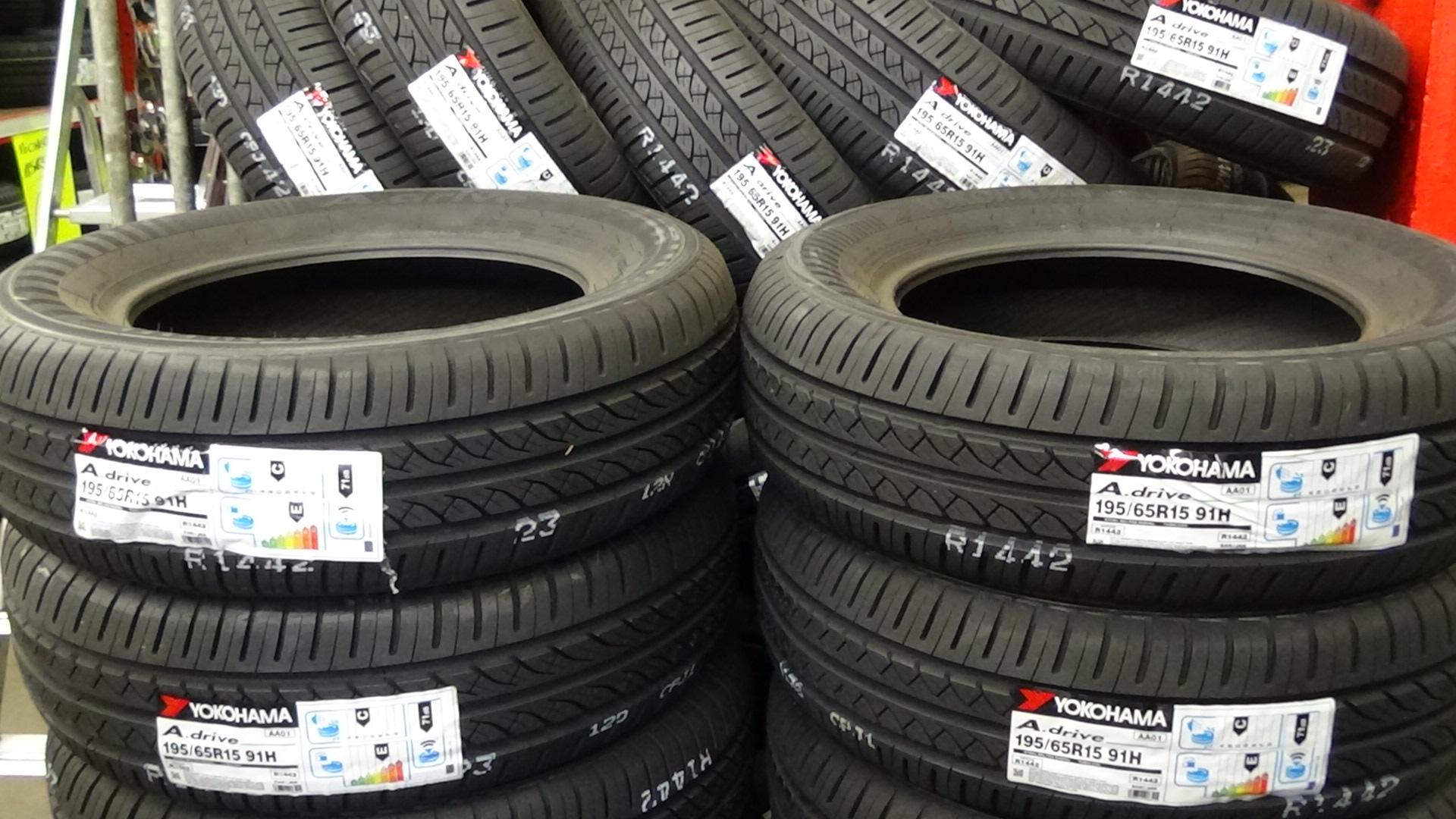 Arrivage de pneus Yokohama en magasin