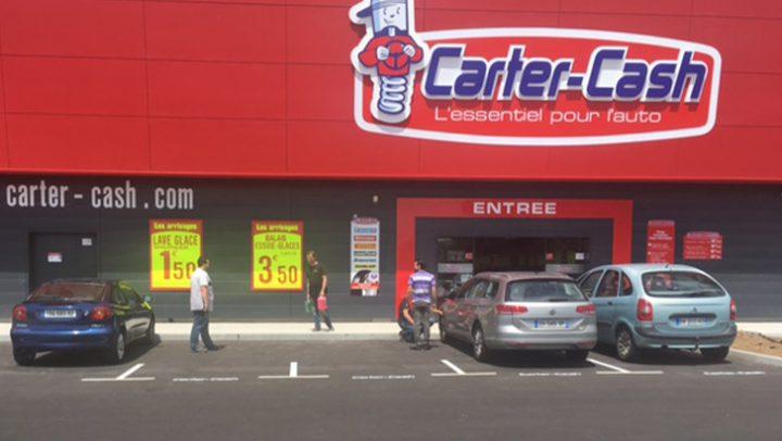 Ouverture d'un magasin Carter-Cash à Brest (Finistère)