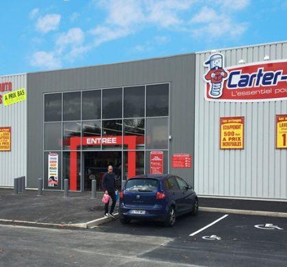 Ouverture d'un magasin Carter-Cash à Saint-Ouen-l'Aumône (95)