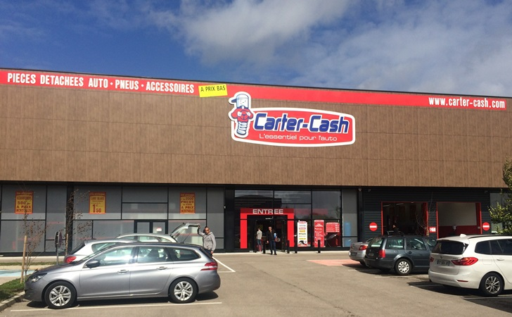 Carter-Cash ouvre son 59ème magasin en France à Barberey Saint-Sulpice (Troyes)