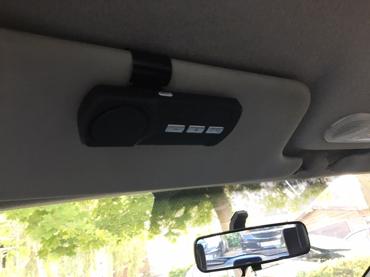 Arrivage d'un kit mains libres Bluetooth