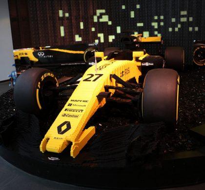 l'Atelier Renault expose une Formule 1 RS17 en briques Lego