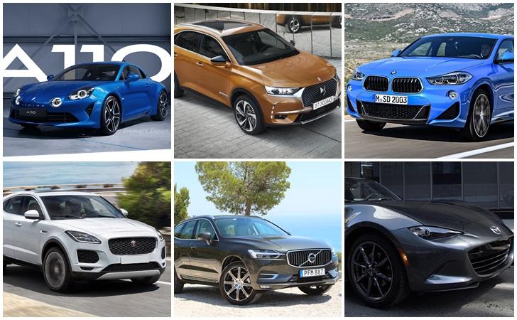 Quelle sera la voiture de l'année 2018 ?