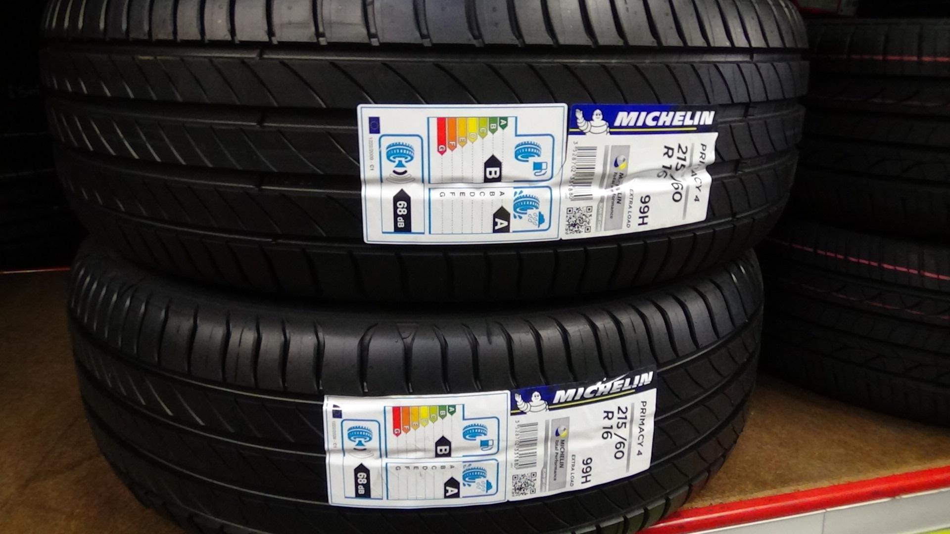 Michelin présente le Primacy 4