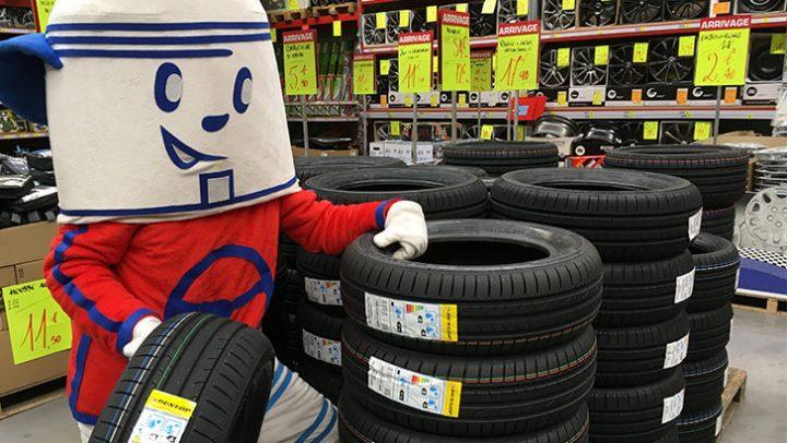 Encore un arrivage de pneus Dunlop !