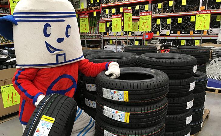 Arrivage de pneus Dunlop en magasin !