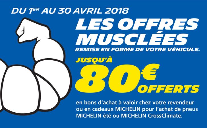 Les offres musclées de Michelin