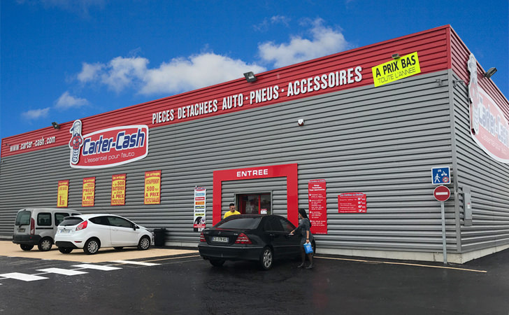 Ouverture d'un magasin Carter-Cash à Les Pennes-Mirabeau (13170)