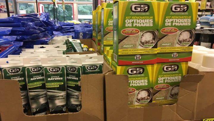 Arrivage de produits d'entretien GS27 !