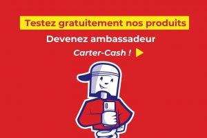 devenir ambassadeur carter-cash