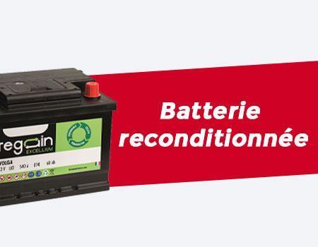 batterie reconditionnee