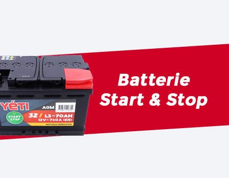 batterie start and stop