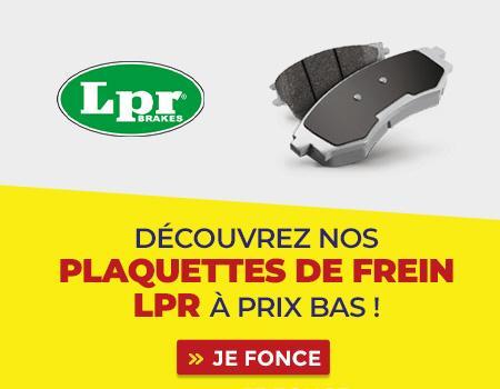 encart plaquette frein LPR
