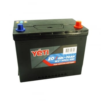 Batterie 70AMP 600A Yeti 20