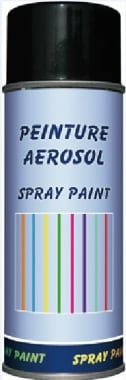 Peinture spray MDD 400 ml black