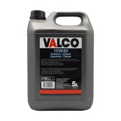 Huile moteur Valco 10W40 (Semi-synthèse) essence/diesel 5 litres