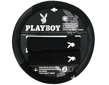 COUVRE VOLANT + 2 PROT CEINT PLAYBOY