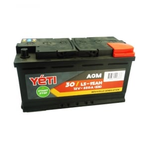 30 - YETIL595AGM BATTERIE 95AH 850A