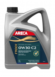 Huile moteur 0W30 ARECA (C2, Ford, Fortax F9001) 5 litres